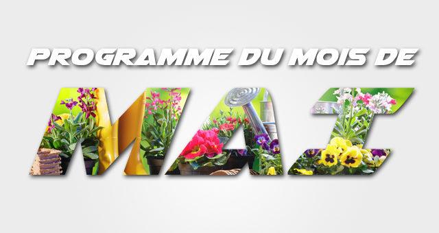 Programme de mai 2019